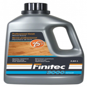 "Finitic Canada Finitec 3000 is easy to apply with the Finitec applicator or a 3/8"" roller and gives an outstanding resistance to wood floors all-around the house."