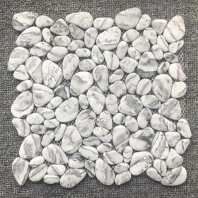 kitchen or bathroom Gray, White Mosaic Porcelain Backsplash Tile With Installation In Toronto (GTA), Brampton, Missisauga, Oakville, Vaughan and Ottawa