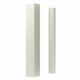"White Smooth, Glossy Spindle White Plain (1-1/4"" x 39"") Stairs and Railings Spindles at Steeles Flooring Brampton, Oakville, Missisauga, Toronto GTA Floor Installers."