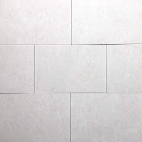 Polished Glazed 12x24 White Majestic Pearl Polished Floor & Wall Porcelain Tile at Steeles Flooring in Brampton, Oakville, Vaughan, Toronto (GTA), Ottawa and Canada