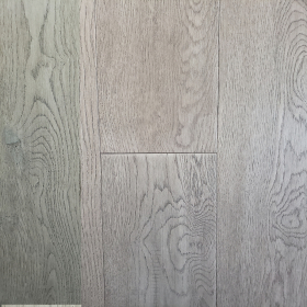 "Wide Plank Gray Oak Crest Grey Handscraped & Distressed 6"" Engineered Hardwood Flooring From Vidar With a 3/4 inch Thickness and 6 inch Width From Steeles Flooring Brampton, Toronto (GTA), Oakville, Vaughan and Ottawa"