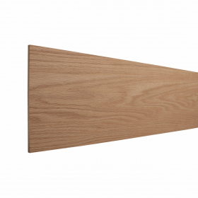 Natural Unfinished Smooth Stair Riser Red Oak 48''x7-7/8'' Stairs and Railings/Accessories/Risers at Steeles Flooring Brampton, Oakville, Missisauga, Toronto GTA Floor Installers.