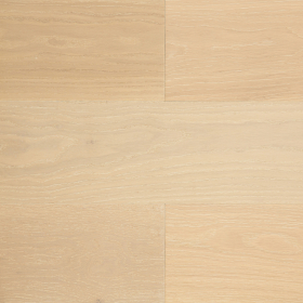 "Wide Plank White, Beige Oak Ivory 7"" Wire Brushed Engineered Hardwood Flooring From Vidar With a 3/4 inch Thickness and 7 inch Width From Steeles Flooring Brampton, Toronto (GTA), Oakville, Vaughan and Ottawa"