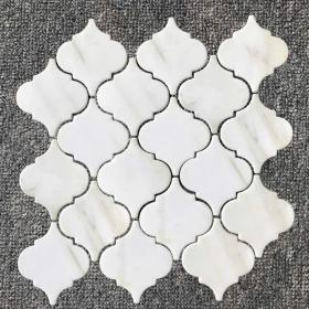kitchen or bathroom Gray, White Arabesco Mosaic Calacatta Gold Backsplash Tile With Installation In Toronto (GTA), Brampton, Missisauga, Oakville, Vaughan and Ottawa