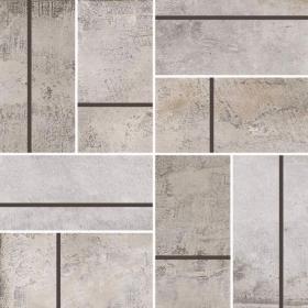 kitchen or bathroom Brown, Gray, Beige Casa Roma Stonecrete Parquet Mosaic  Sanded Cement Honed Backsplash Tile With Installation In Toronto (GTA), Brampton, Missisauga, Oakville, Vaughan and Ottawa