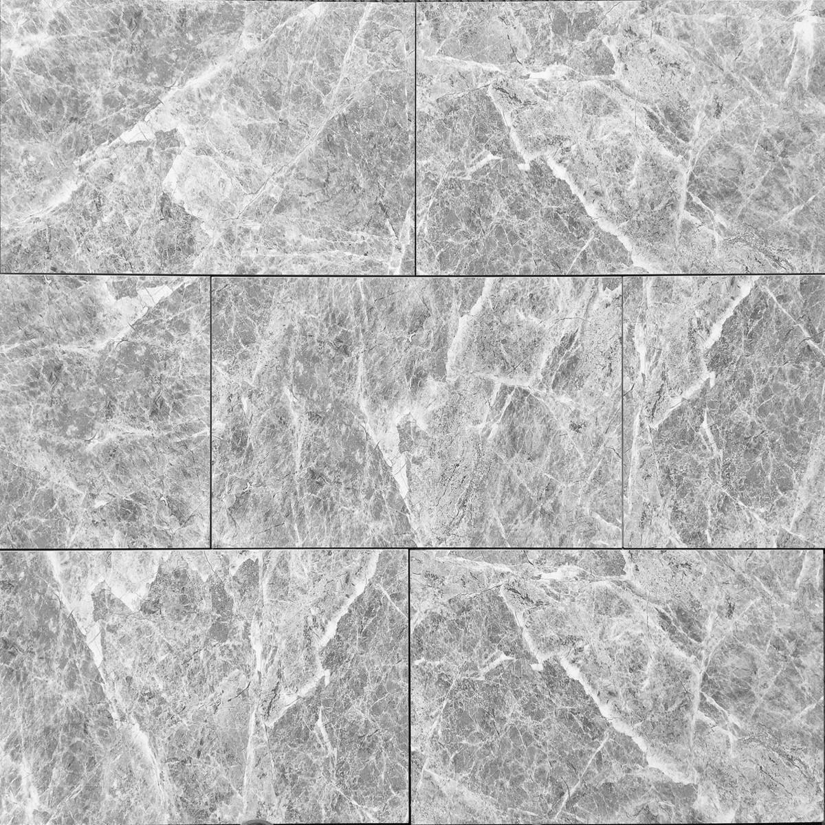 12x24 gray milano dark polished floor wall porcelain tile