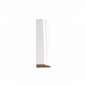 Shoe Mold Primed White (Door Stop) 8 feet/piece NONE at Steeles Flooring Brampton, Oakville, Missisauga, Toronto GTA Floor Installers.